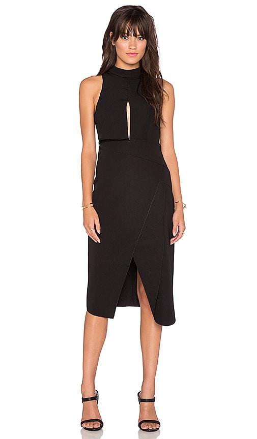 C/MEO Fall Back Dress in Black