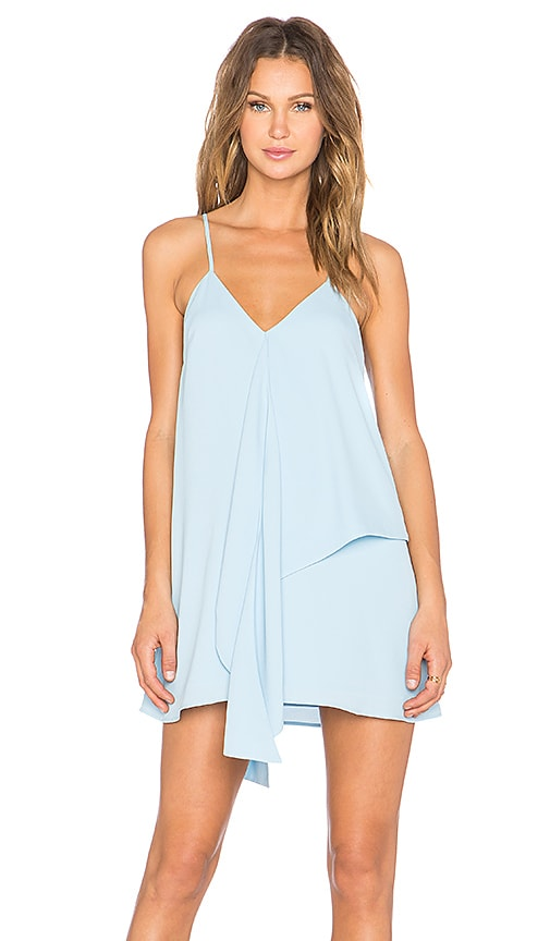 C/MEO The Waves Dress in Blue