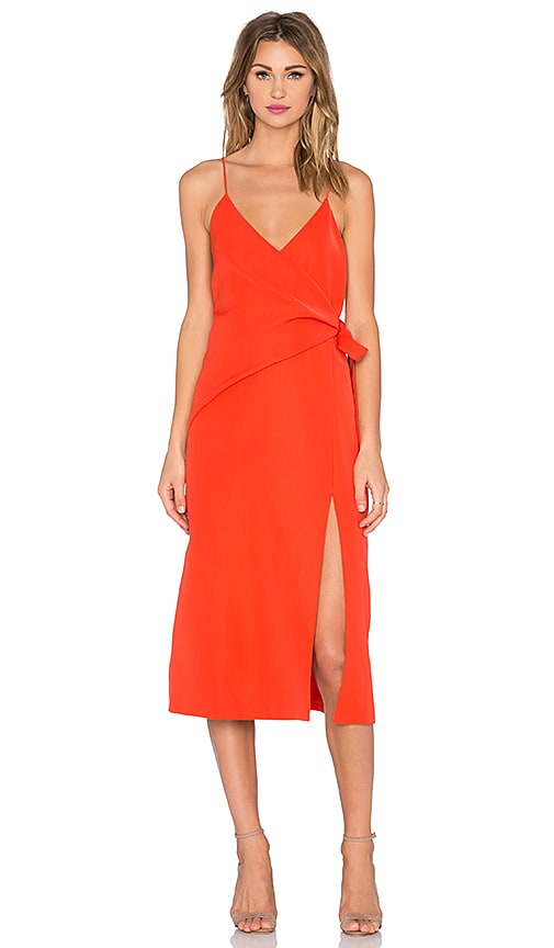 C/MEO Better Things Dress in Orange