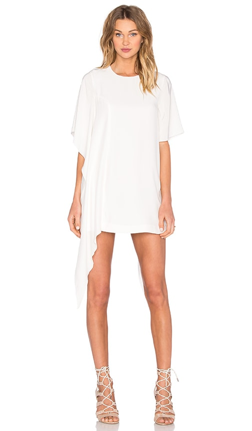 C/MEO Disposition Silk Dress in Ivory