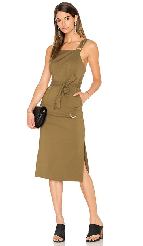 C/MEO Better Things Dress in Khaki