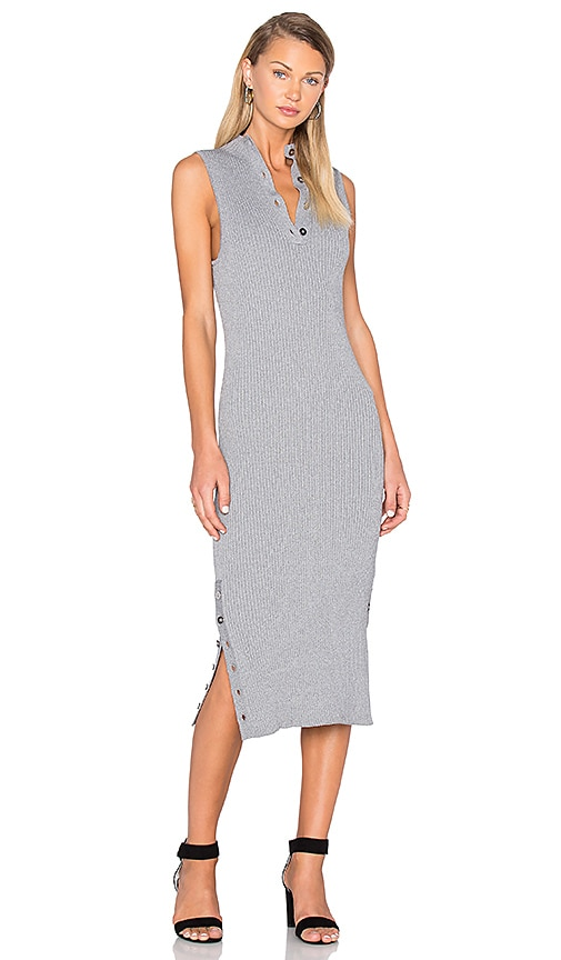 C/MEO Life is Real Knit Dress in Gray