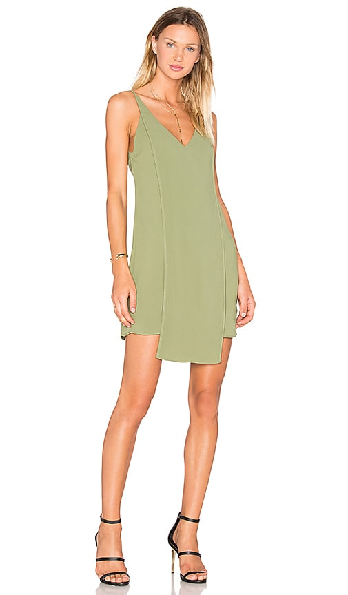 C/MEO About Us Dress in Olive
