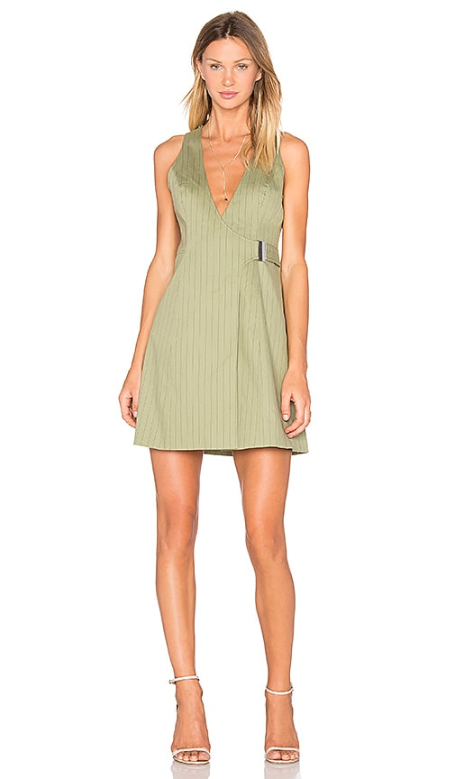 C/MEO Real Life Dress in Green