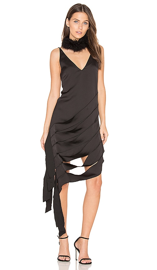 C/MEO Another Way Dress in Black