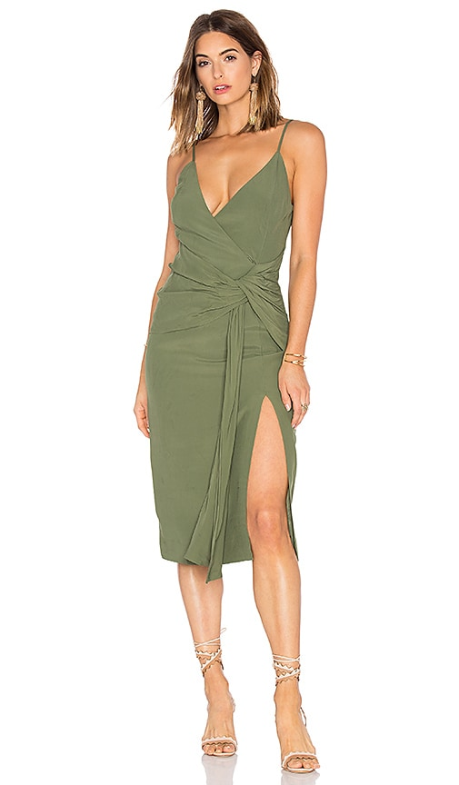 C/MEO Interrupt Dress in Green