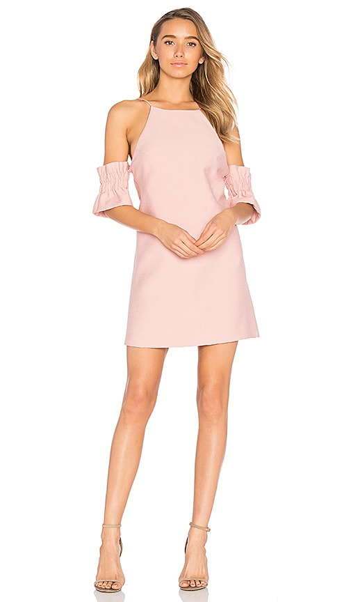 C/MEO Double Take Mini Dress in Pink