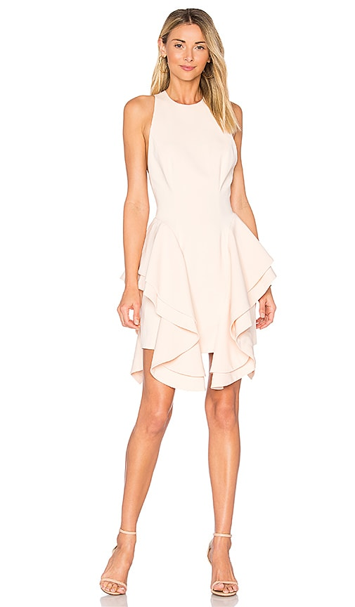 C/MEO Enlighten Mini Dress in Peach