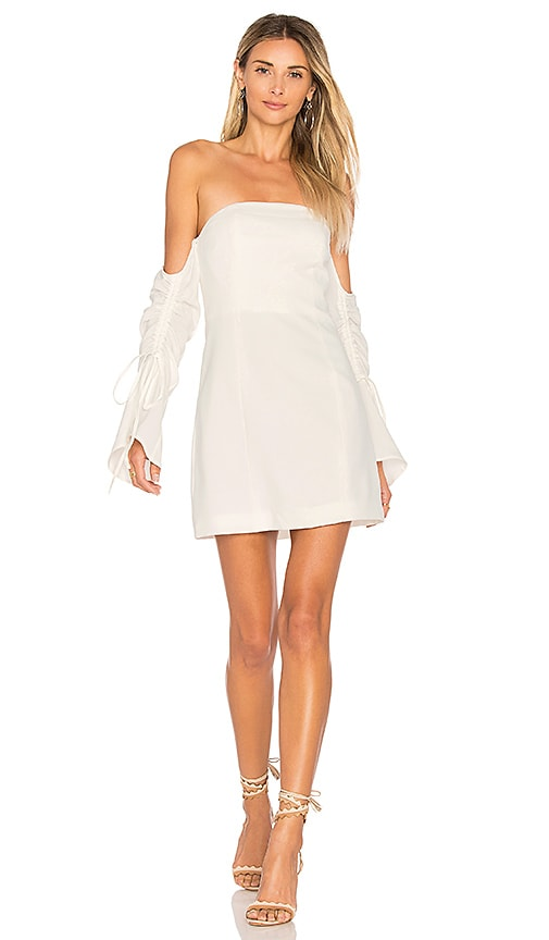 C/MEO Right Kind Of Madness Dress in White