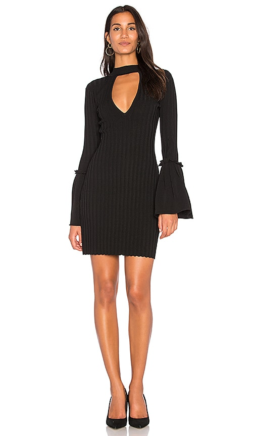 C/MEO Mind Reader Knit Dress in Black
