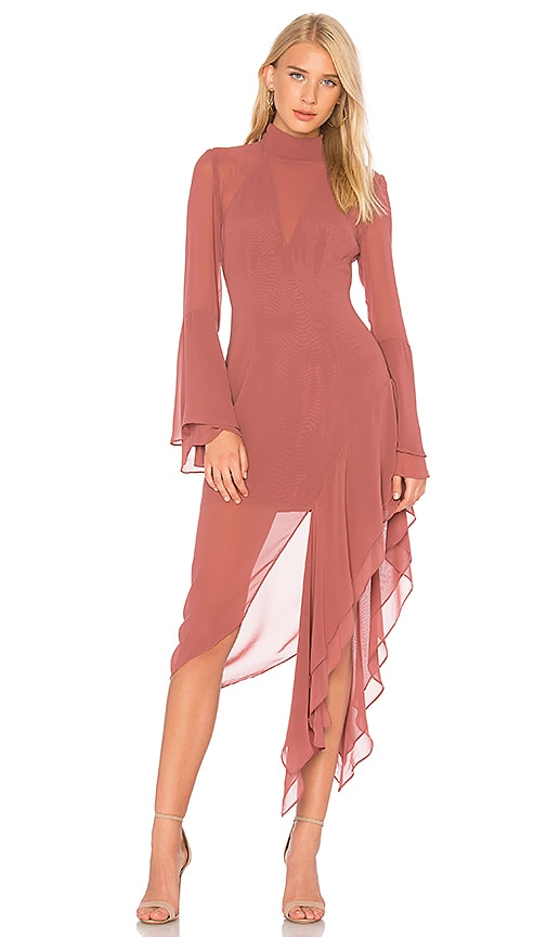 C/MEO Take a Hold Dress in Pink