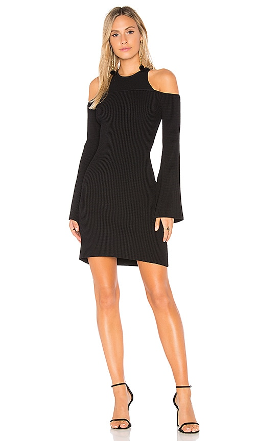 C/MEO Emerge Knit Dress in Black