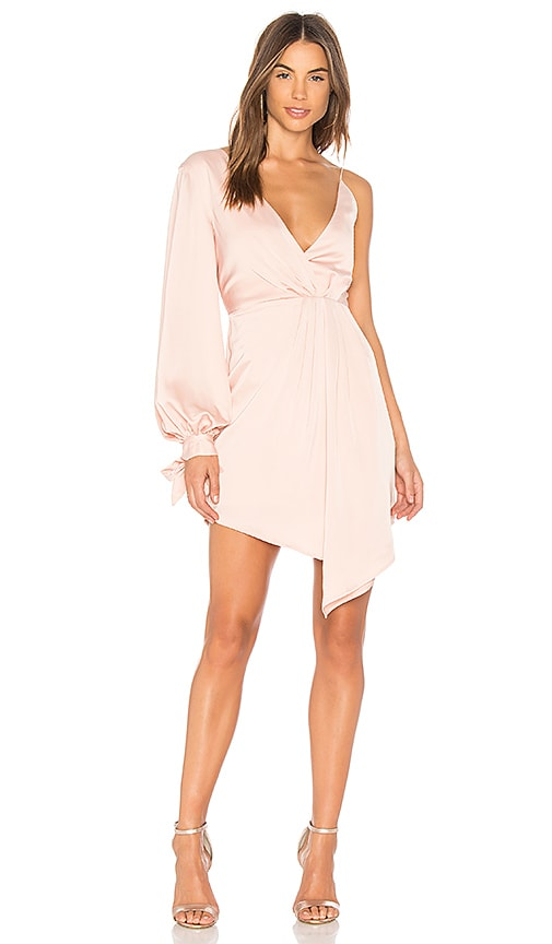 C/MEO Eventual Mini Dress in Pink