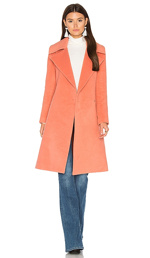 C/MEO Dream Space Coat in Coral