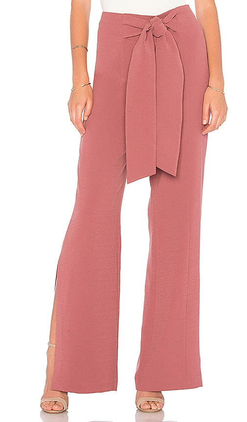 C/MEO Fatal Lines Wide Leg Pant in Pink