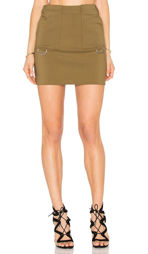 C/MEO Better Things Skirt in Green