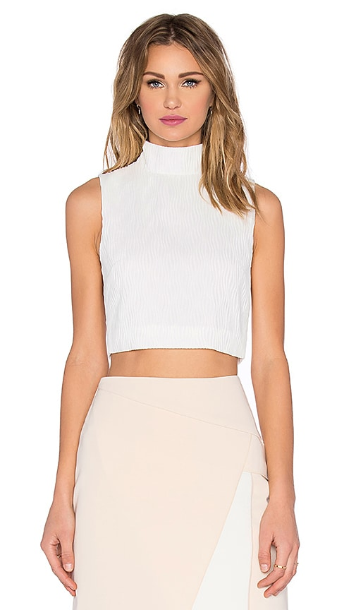 C/MEO Stay Close Top in White