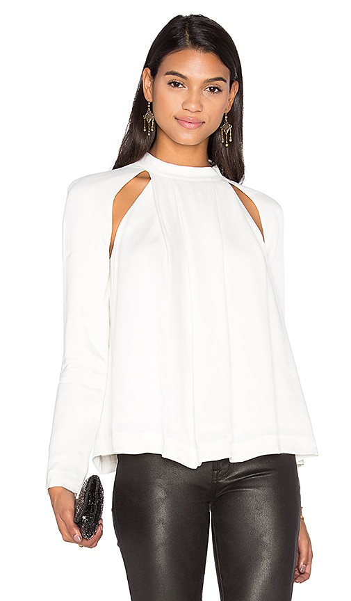 C/MEO Can't Resist Long Sleeve Top in Ivory