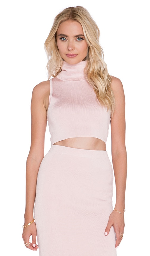 C/MEO Sober Thoughts Top in Baby Pink