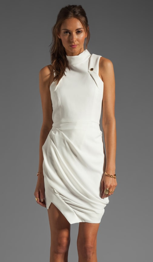 Synonymous Draped Crepe GGT Dress