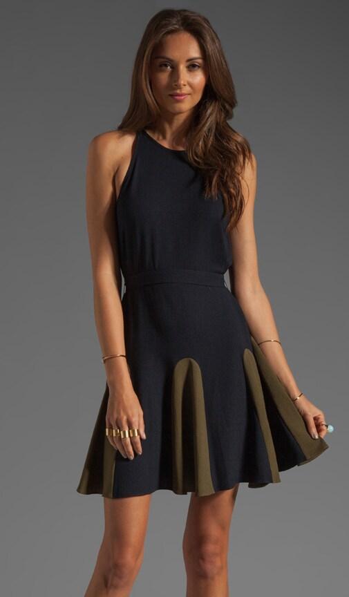 Urbanite Crepe GGT Dress w/ Grosgrain Belt