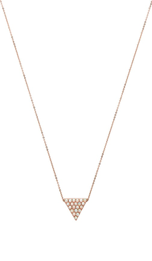 CAM Tri Player Pendant Necklace in Metallic Copper