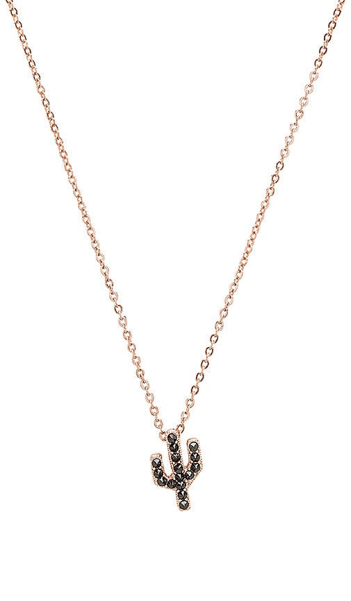 CAM Studded Saguaro Necklace in Metallic Copper