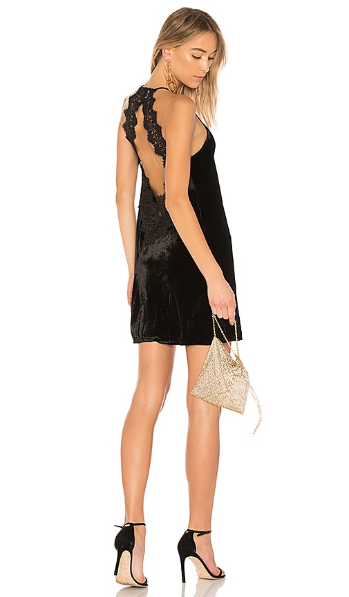 CAMI NYC The Soho Velvet Dress in Black