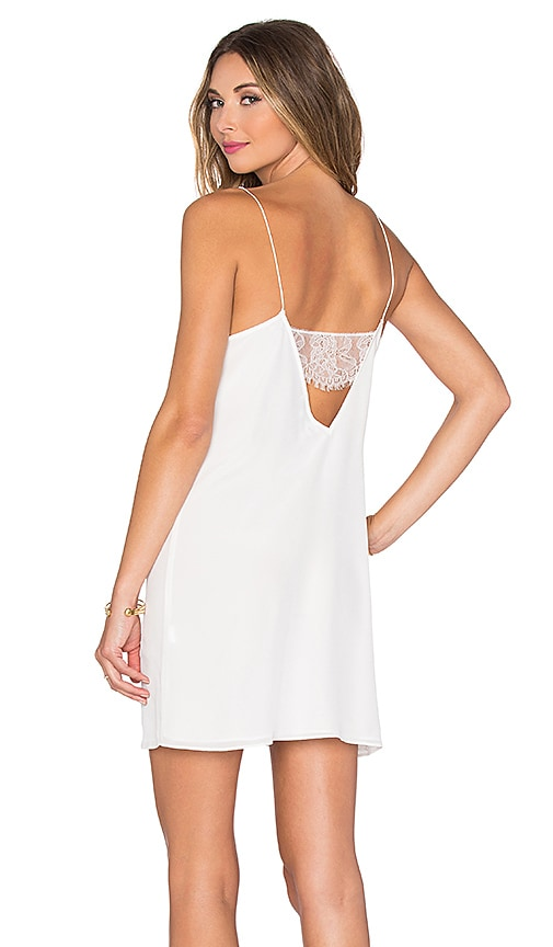 CAMI NYC The Back Lace Dress in White