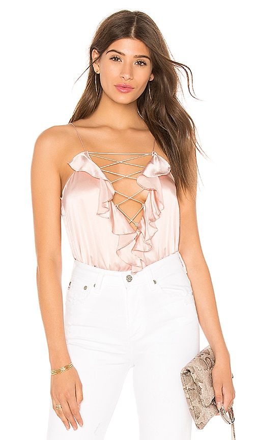 ec2a00a8ed4a5 CAMI NYC The Ruffle Charlie Cami in Lotus