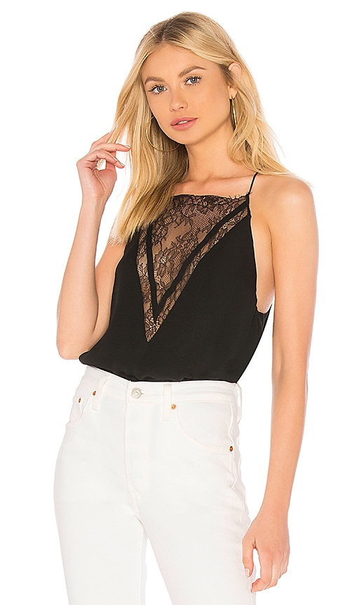 CAMI NYC The Shelby Cami in Black