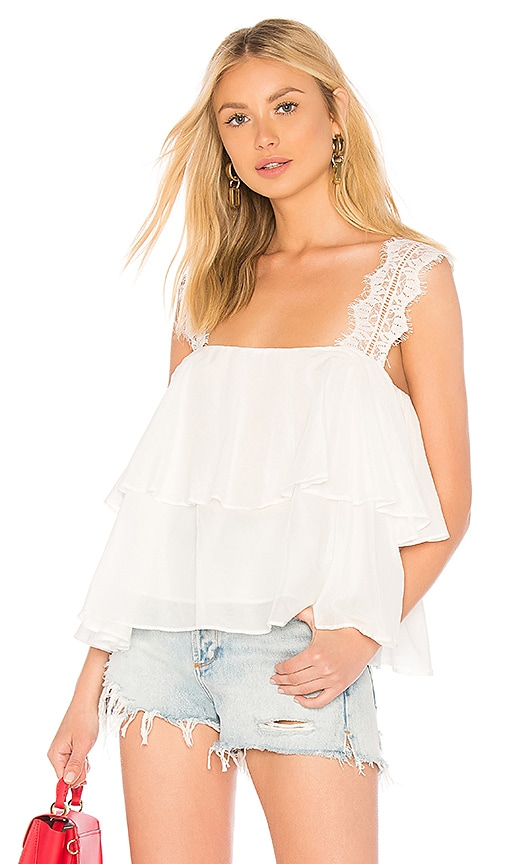 CAMI NYC The Vanessa Cami in White