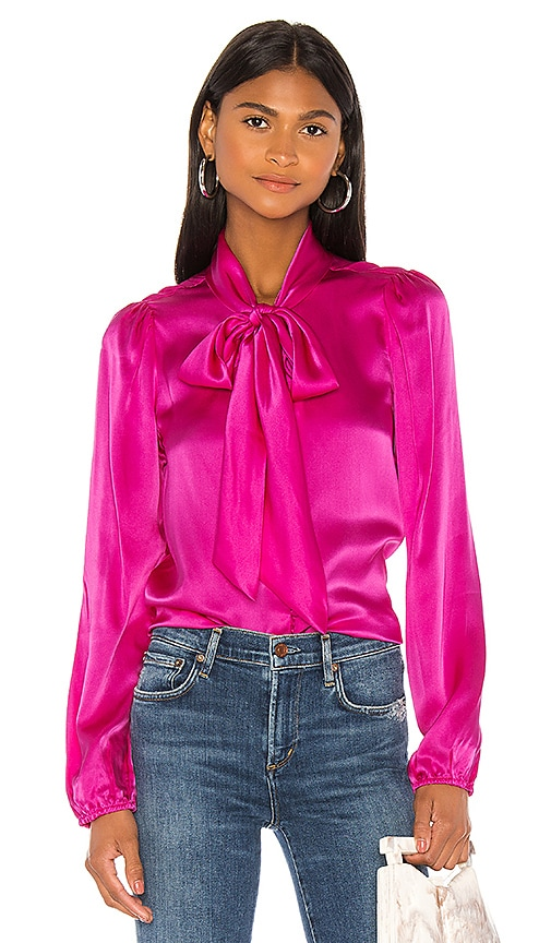 The Ellery Charmeuse Top