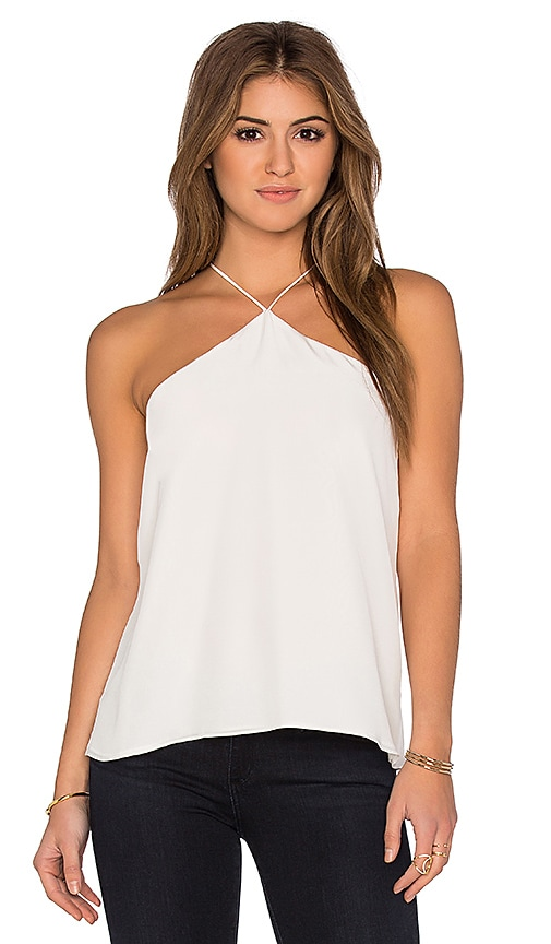 CAMI NYC The Halter Tank in White