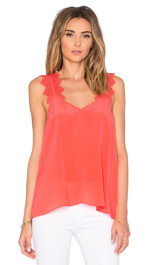 CAMI NYC The Chelsea Cami in Coral