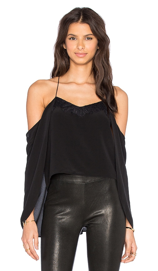 CAMI NYC The Cape Cami in Black