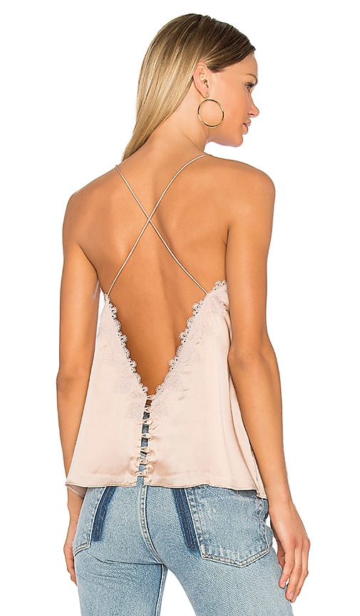 CAMI NYC The Satin Cami in Blush