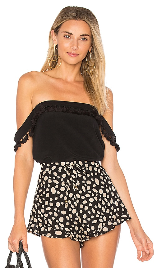 CAMI NYC The Carly Top in Black