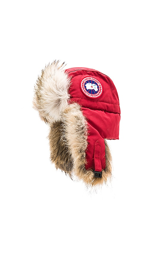 38cc665687a Aviator Coyote Fur Trim Hat. Aviator Coyote Fur Trim Hat. Canada Goose