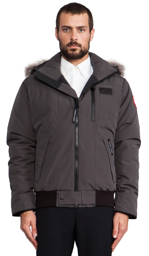 Borden Bomber with Coyote Fur Collar
