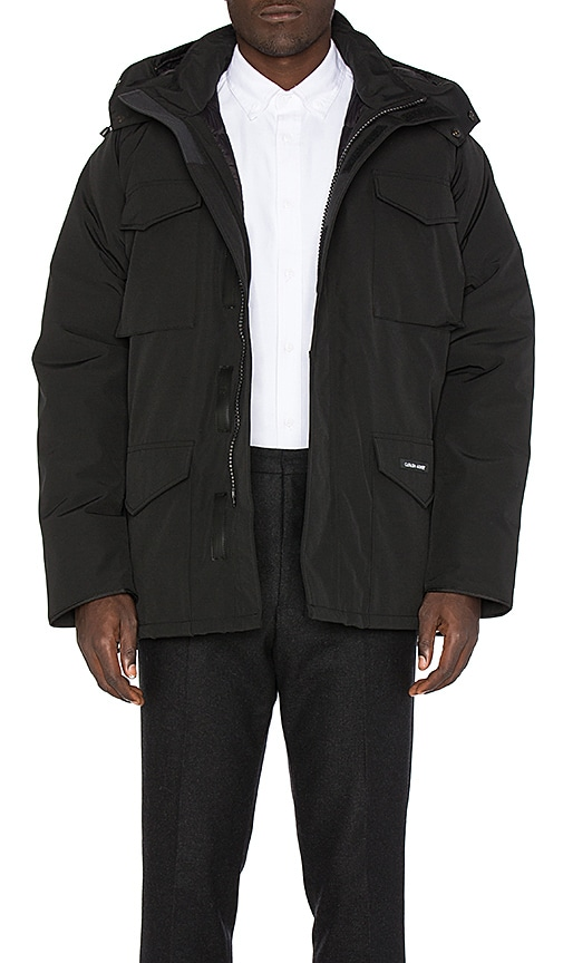 Canada Goose Constable Parka in Black