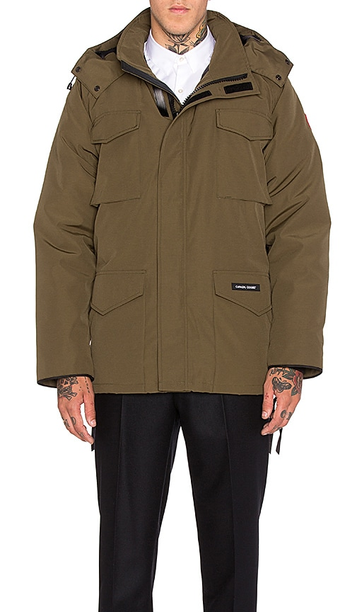 Canada Goose Constable Parka in Military Green