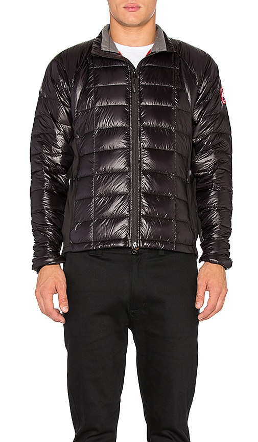 Canada Goose Hybridge Lite Jacket in Black