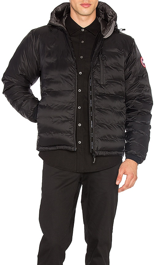 Canada Goose Lodge Down Hoody in Black