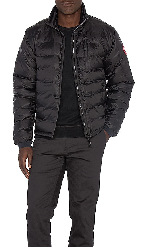 Canada Goose Lodge Down Jacket in Black