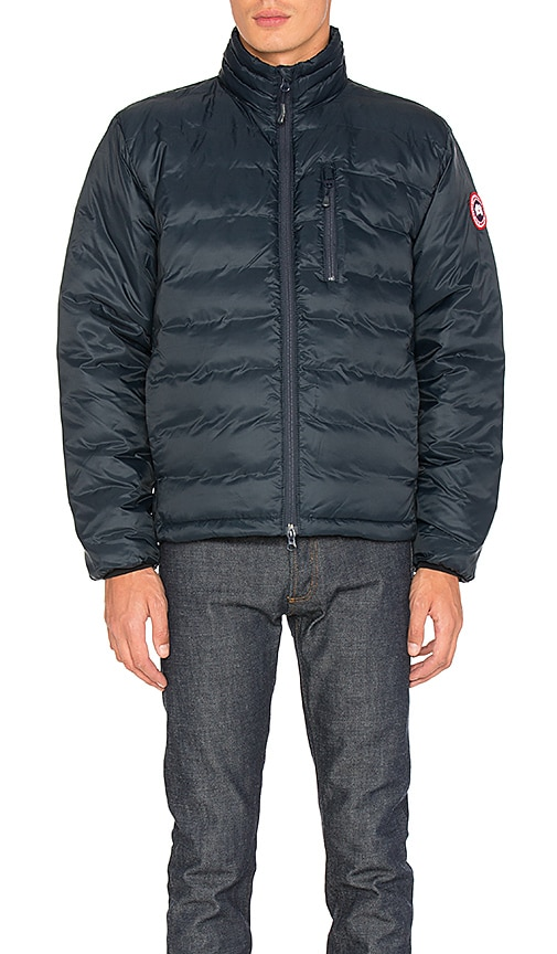 Canada Goose Lodge Down Jacket in Navy