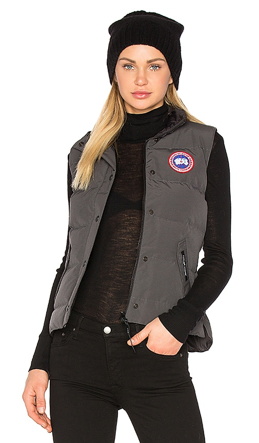 Canada Goose Freestyle Vest in Charcoal