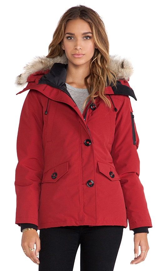 Canada Goose coats outlet fake - Canada Goose Montebello Parka With Coyote Fur Trim in Redwood ...
