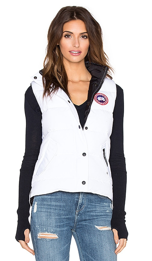 Canada Goose Freestyle Vest in White
