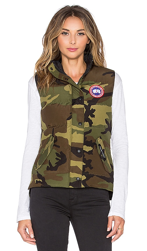 Canada Goose Freestyle Vest in Army